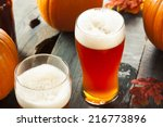 Frothy Orange Pumpkin Ale Ready ...