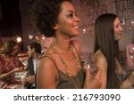 people at a nightclub. | Shutterstock . vector #216793090