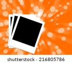 black canvas | Shutterstock . vector #216805786
