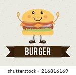 food design over pattern... | Shutterstock .eps vector #216816169