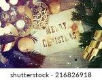 lantern | Shutterstock . vector #216826918