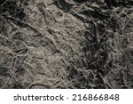 black grunge background | Shutterstock . vector #216866848