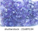 cluster of amethyst | Shutterstock . vector #21689134