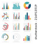 set of infographics elements | Shutterstock .eps vector #216913519