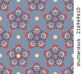 vector abstract  patterns with... | Shutterstock .eps vector #216969610