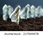 American Dollars Grow From The...