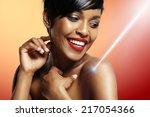 laser cosmetology | Shutterstock . vector #217054366