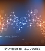 beautiful beige and blue... | Shutterstock .eps vector #217060588