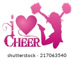 I Love Cheer With Jumping...