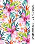 a beautiful seamless pattern... | Shutterstock . vector #217101028