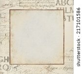 Textured Vintage Background An...