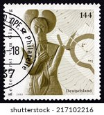 germany   circa 2005  a stamp...   Shutterstock . vector #217102216