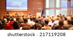 business conference and...   Shutterstock . vector #217119208