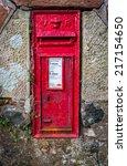 An Old Rural British Royal Mail ...