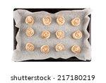 Cinnamon Rolls Dough On A...