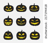 Halloween Pumpkins With...