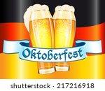 oktoberfest celebration design   Shutterstock .eps vector #217216918