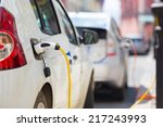 power supply for electric car... | Shutterstock . vector #217243993