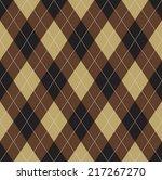 seamless argyle pattern.... | Shutterstock .eps vector #217267270
