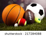 sports equipment | Shutterstock . vector #217284088