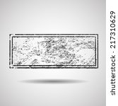 grunge rubber stamp texture  | Shutterstock .eps vector #217310629