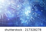 abstract technology background... | Shutterstock . vector #217328278