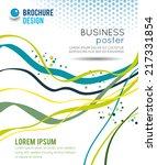 flyer design content background.... | Shutterstock .eps vector #217331854