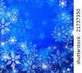 jpeg winter background with... | Shutterstock . vector #21737350