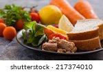 Sandwich With Tuna Healthy Food