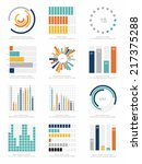 set of infographics elements | Shutterstock .eps vector #217375288