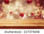 christmas holiday background... | Shutterstock . vector #217375648