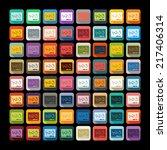 flat design  board | Shutterstock .eps vector #217406314
