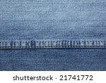 close up of textured denim... | Shutterstock . vector #21741772