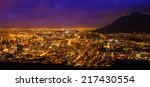 view of cape town  south africa | Shutterstock . vector #217430554