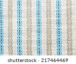 fabric texture background | Shutterstock . vector #217464469