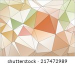abstract geometric background... | Shutterstock .eps vector #217472989