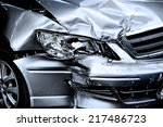 car crash background | Shutterstock . vector #217486723