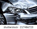 car crash background | Shutterstock . vector #217486723