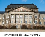 ministry of finance buildings... | Shutterstock . vector #217488958