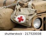 military pharmacy kit | Shutterstock . vector #217520038