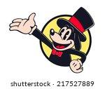 vintage toons  retro cartoon... | Shutterstock .eps vector #217527889