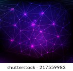 abstract communication concept... | Shutterstock .eps vector #217559983