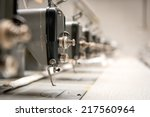 abandoned textile factory  ... | Shutterstock . vector #217560964