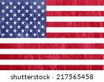 usa flag | Shutterstock . vector #217565458