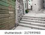 Stairways Of Medieval...