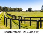 Double Fence At Horse Farm....