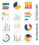 set of infographics elements | Shutterstock .eps vector #217621180