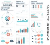 infographic business vector... | Shutterstock .eps vector #217632793