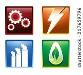 energy icon   Shutterstock .eps vector #217659796