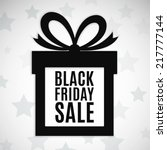 black friday sale background.... | Shutterstock .eps vector #217777144